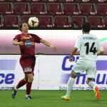 Ciprian Deac a marcat singurul gol al CFR-ului în înfrângerea,   scor 1-2,   în faţa Săgeţii din Năvodari / FOTO: Dan Bodea