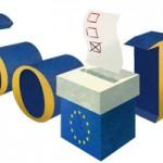 Logo special Google pentru alegerile europarlamentare