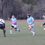 """Rugby-ştii de la """"U"""" au învins vicecampioana României,   CSM Ştiinţa Baia Mare,   într-un meci amical disputat în perioada de pregătire,   vineri vor încerca să repete """"isprava"""" în meci oficial în SuperLiga Naţională / FOTO: Dan Bodea"""