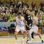 CSM Oradea este prima semifinalistă a Ligii Naţionale de Baschet Masculin, după ce a eliminat pe SCM U Craiova / FOTO: Dan Bodea