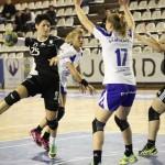 """Mihaela Ani Senocico a marcat 10 goluri în meciul cu HC Zalău şi """"U"""" Jolidon speră la cupele europene / FOTO: Dan Bodea"""