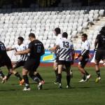 CSM Ştiinţa Baia Mare s-a impus,   cu 33-8,   în faţa Universităţii Cluj şi termină turul sezonului regulat neînvinşi în SuperLiga Naţională de rugby