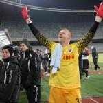 Portarul Veselovsky a salvat Universitatea Cluj de la retrogradare,   prin paradele sale din partida cu FC Braşov / FOTOŞ Dan Bodea