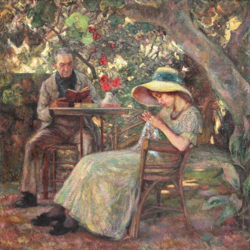 În grădină la Beaucaire,   Samuel Mutzner