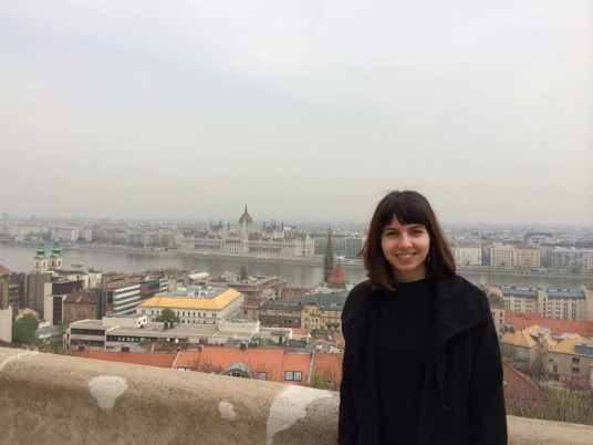 Diana Şerbănescu a devenit voluntar pentru Habitat for Humanity în clasa a XI-a /Foto: arhivă personală