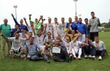 Someşul Apahida a câştigat faza pe judeţ a Cupei României la fotbal, la patru ani de la înfiinţarea clubului / Foto: Dan Bodea
