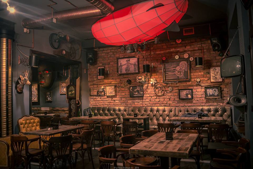 Steampunk Office Decor