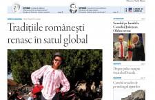 """Nu ratați noul număr din """"Transilvania Reporter"""": Tradițiile românești renasc în satul global"""