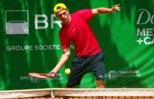 Dragoş Mîrtea este singurul tenismen român calificat în semifinalele turneului Futures de la Cluj-Napoca