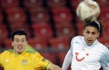 Petar Jovanovic (foto, în galben) a evoluat în Liga Campionilor cu FC Vaslui, iar din această vară se alătură lotului Universităţii Cluj