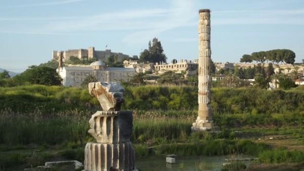Ce a mai rămas din templul Artemisei