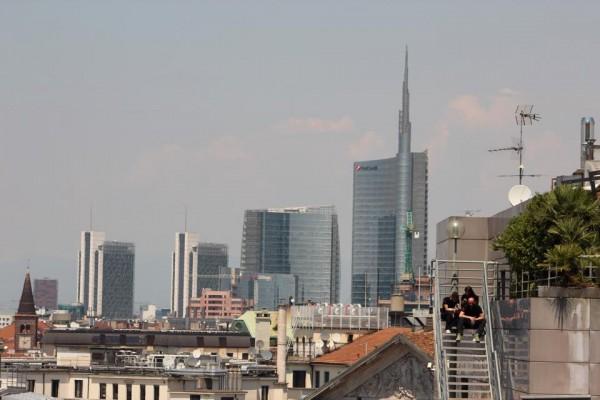 Cartierul Porta Nuova fotografiat de pe terasa Domului/Foto: Cristina Beligăr