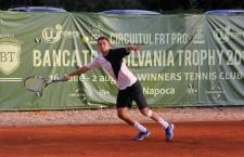 Victor Crivoi este favoritul numărul 1 al turneului de tenis futures BT Tropfy care se desfășoară în aceste zile la Cluj-Napoca / Foto: Dan Bodea