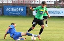 Adus în această vară din liga a II-a a Portugaliei,   Guima a marcat,   joi,   primul gol în tricoul CFR-ului,   în returull cu Jagodina din Liga Europa / Foto: Dan Bodea