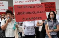 Aeroportul Avram Iancu a aterizat în stradă