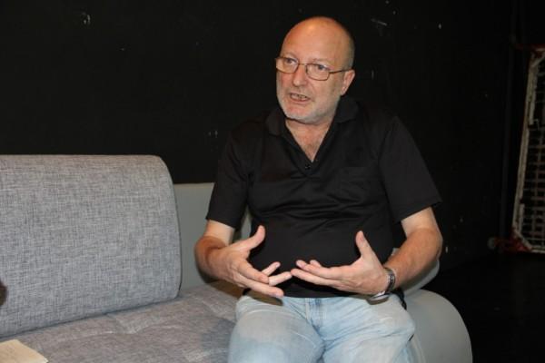 Cristian Hadji-Culea,   director al Teatrului Naţional din Iaşi/Foto: Dan Bodea