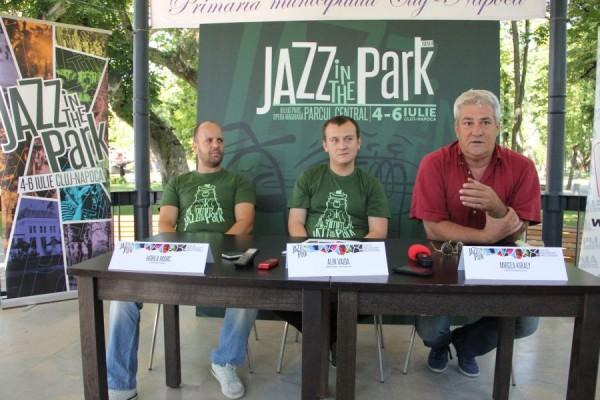 De la dreapta la stânga: Mircea Kiraly,   Alin Vaida,   Horea Marc/Foto: Dan Bodea