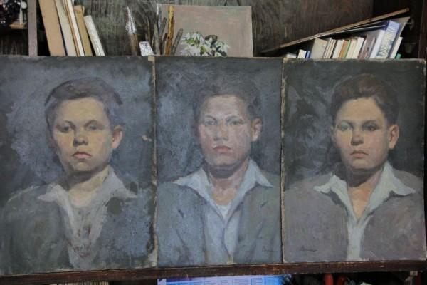 Studiu al unui revoluţionar din colecţia artistului Ştefan Boca