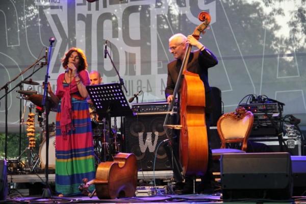 Teodora Enache și Lars Danielsson/Foto: Dan Bodea