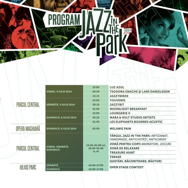 Program Jazz in the Park (1)