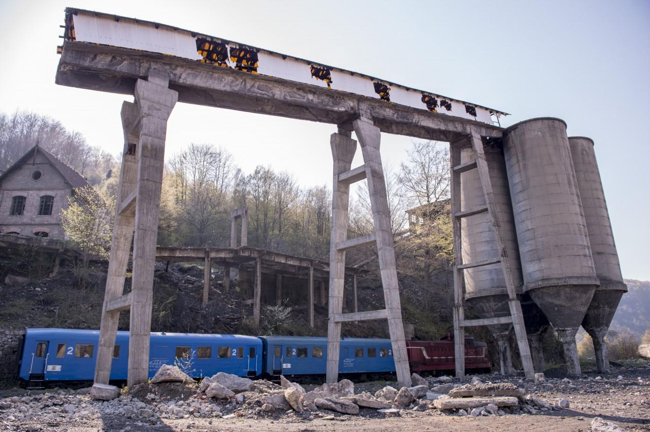Anina,   oraș minier cândva prosper,   acum în ruină