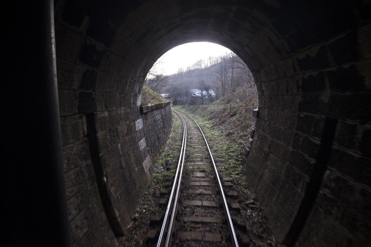 Linia Oravița-Anina are 14 tuneluri și 10 viaducte