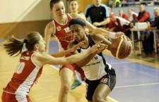Amber Jones a anunţat pe o reţea de socializare că şi-a prelungit contractul cu Universitatea Cluj / Foto: Dan Bodea