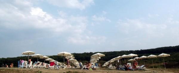 Plaja cu nisip de la Figa/ Foto: cluj.travel