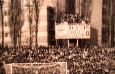 Înainte de 1990 un meci între Corvinul Hunedoara şi Steaua era o adevărată sărbătoare pentru suporteri