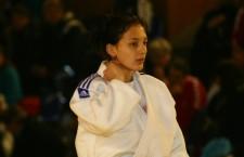 Judoka Loredana Ohâi a obţinut prima medalie de aur pentru Cluj,   în 2016  / Foto: Dan Bodea