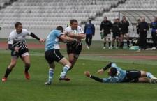 """Pentru a rămâne în lupta pentru locul 6,   ultimul care duce în play-off,   rugby-ştii de la """"U"""" trebuie să învingă,   duminică,   în deplasare,   pe Dinamo / Foto: Dan Bodea"""