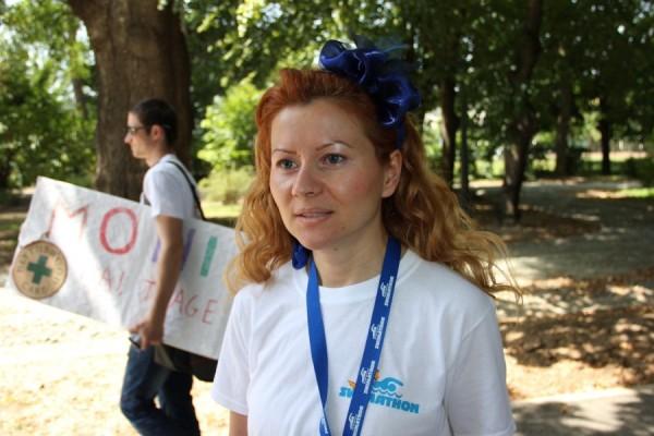 Simona Şerban,   director Fundaţia Comunitară Cluj/Foto: Dan Bodea