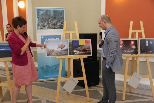 Elena Nicolae și Ciprian Aron/Foto: Dan Bodea