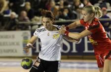 """Mihaela Tivadar s-a consacrat la """"U"""" Jolidon, dar se va lupta pentru titlul de campioană în tricoul echipei CSM Bucureşti / Foto: Dan Bodea"""