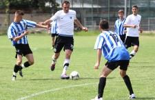 Gabriel Jula a ratat două mari ocazii de gol în amicalul cu FC Zalău / Foto: Dan Bodea