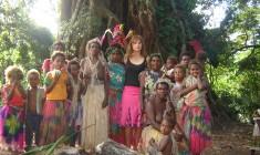 Școala în Vanuatu, o vacanță nesfârșită în pădurea tropicală
