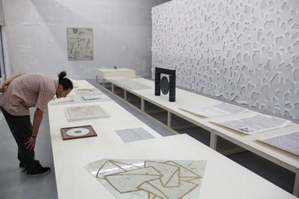 Expoziția Printre rânduri în Galeria Plan B/Foto: Dan Bodea