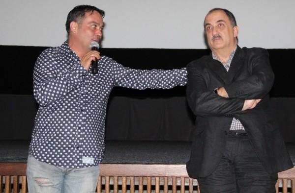 Răzvan Săvescu şi Alexandru Bindea,   la Cluj/Foto: Dan Bodea