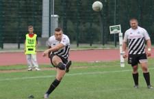 """Ionuţ Dimofte a fost jucătorul decisiv pentru """"U"""",   prin punctele marcate în victoria cu 30-28,   obţinută în deplasare la CSM Bucureşti / Foto: Dan Bodea"""