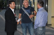 Eugen Pârvulescu (foto, primul din stânga) este noul director sportiv al Universităţii Cluj / Foto: Dan Bodea