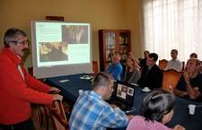 Proiectul de monitorizare a peşterilor dinţara noastră,   Cavemonitor,   a fost lansat,   sâmbătă,   la Cluj-Napoca / Foto: Dan Bodea