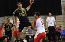Potaissa Turda a dominat 40 de minute meciul de la Bucureşti,   cu CSM,   dar a pierdut la final cu 28-32 în Liga Naţională / Foto: Dan Bodea