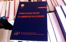 """Revista """"Transylvanian Review of Administrative Sciences"""" are un board internaţional format din personalităţi în domeniu."""