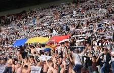 """Şefii CFR-ului s-au răzgândit şi au decis ca accesul spectatorilor la derby-ul CFR - """"U"""" Cluj să fie liber în toate tribunele stadionuli Dr Constantin Rădulescu / Foto: Dan Bodea"""