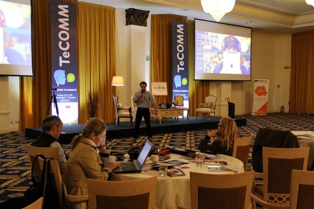 TeCOMM a transformat Clujul în centrul comerțului electronic și strategiilor online / Foto: Dan Bodea