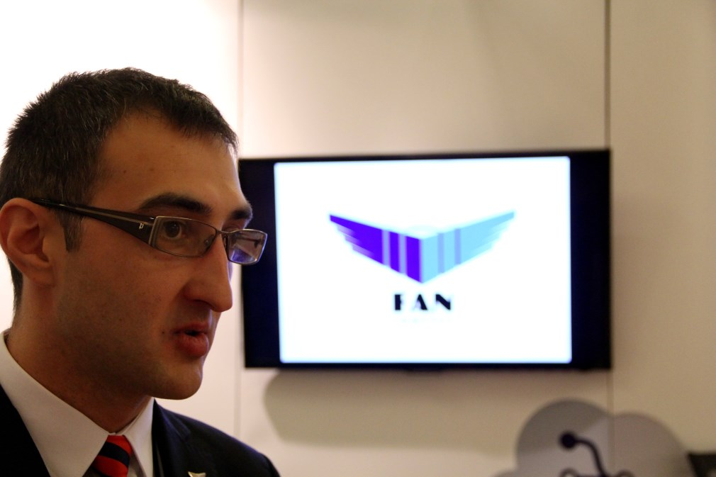 Georghe Nechifor,   Director General de Vânzări Fan Courier pe Transilvania / Foto: Dan Bodea