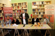 Conferință Festivalul Internațional de Carte Transilvania / Foto: Dan Bodea