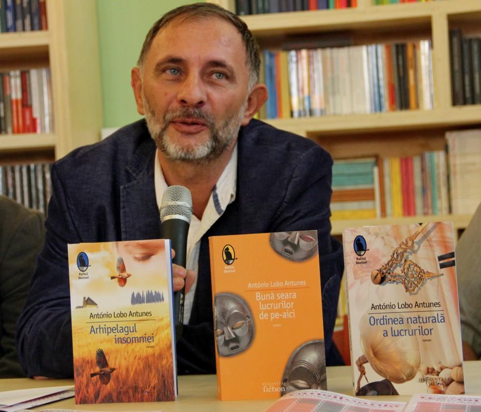 Corin Braga,   Decanul Facultății de Litere / Foto: Dan Bodea