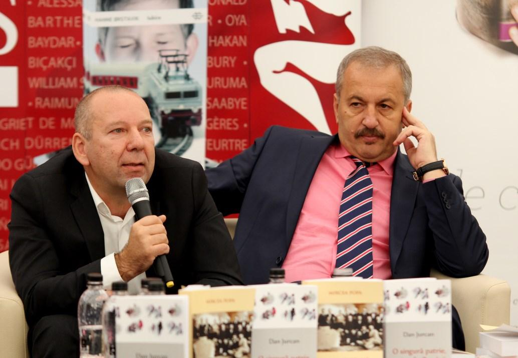 Dan Chiribucă și Vasile Sebastian Dâncu / Foto: Dan Bodea