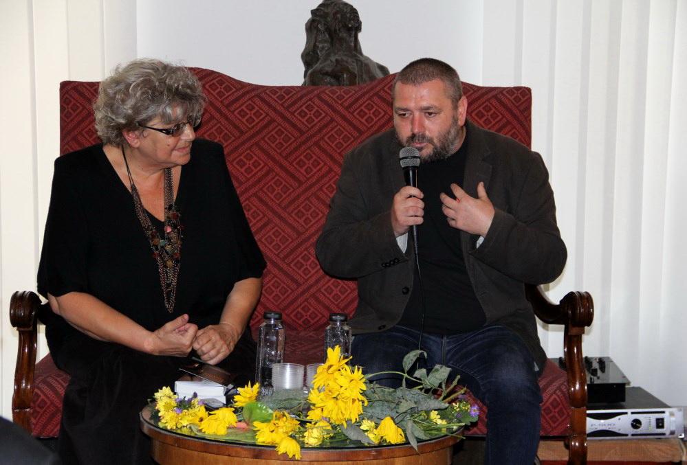 Irina Petraș și Vasile George Dâncu / Foto: Dan Bodea